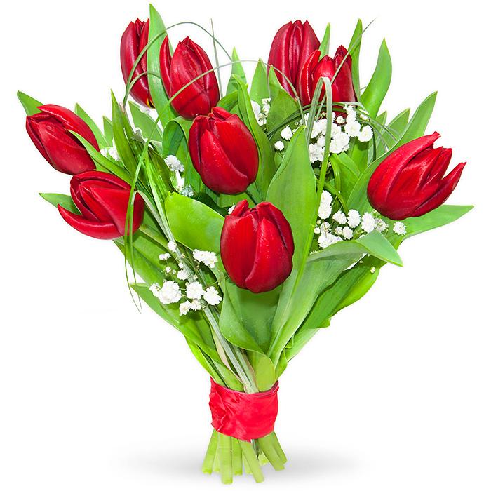 Tulipany na Walentynki