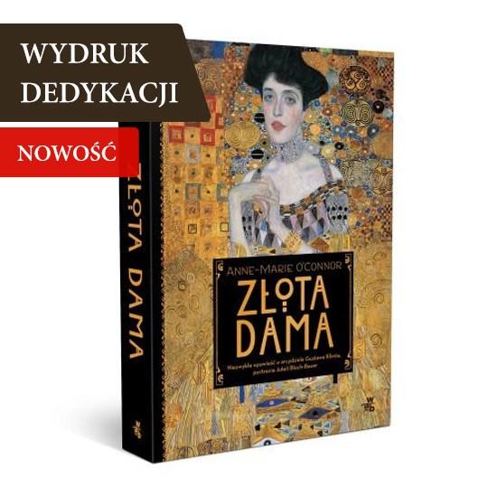 Złota dama, książka z dedykacją