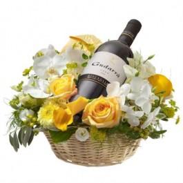 Mały For golden Moments with Red Wine Gudarrà - Aglianico del Vulture (75cl)