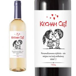Wino personalizowane - Miłość
