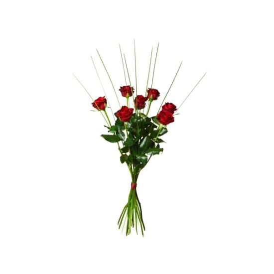 Bukiet siedmiu róż