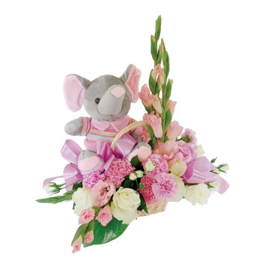 Kwiaty dla dziewczynki