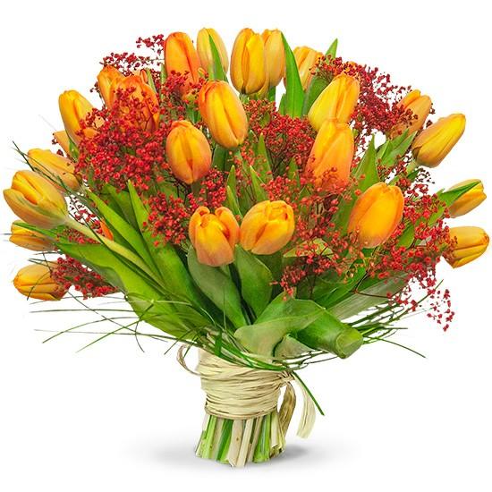 Bukiet Serdeczne tulipany