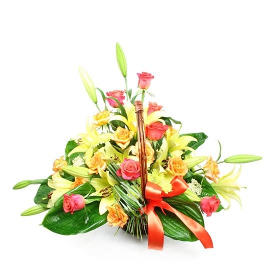 Kwiatowy komplet z Cyrkoniami