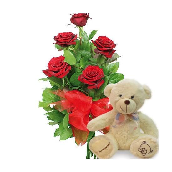 Kwiaty Pluszowy Amorek