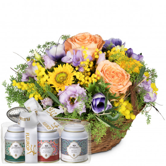 Gift of Spring with Gottlieber tea gift set