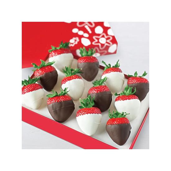 Truskawki w czekoladzie Oreo