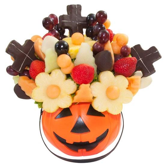 Bukiet owocowy na Halloween
