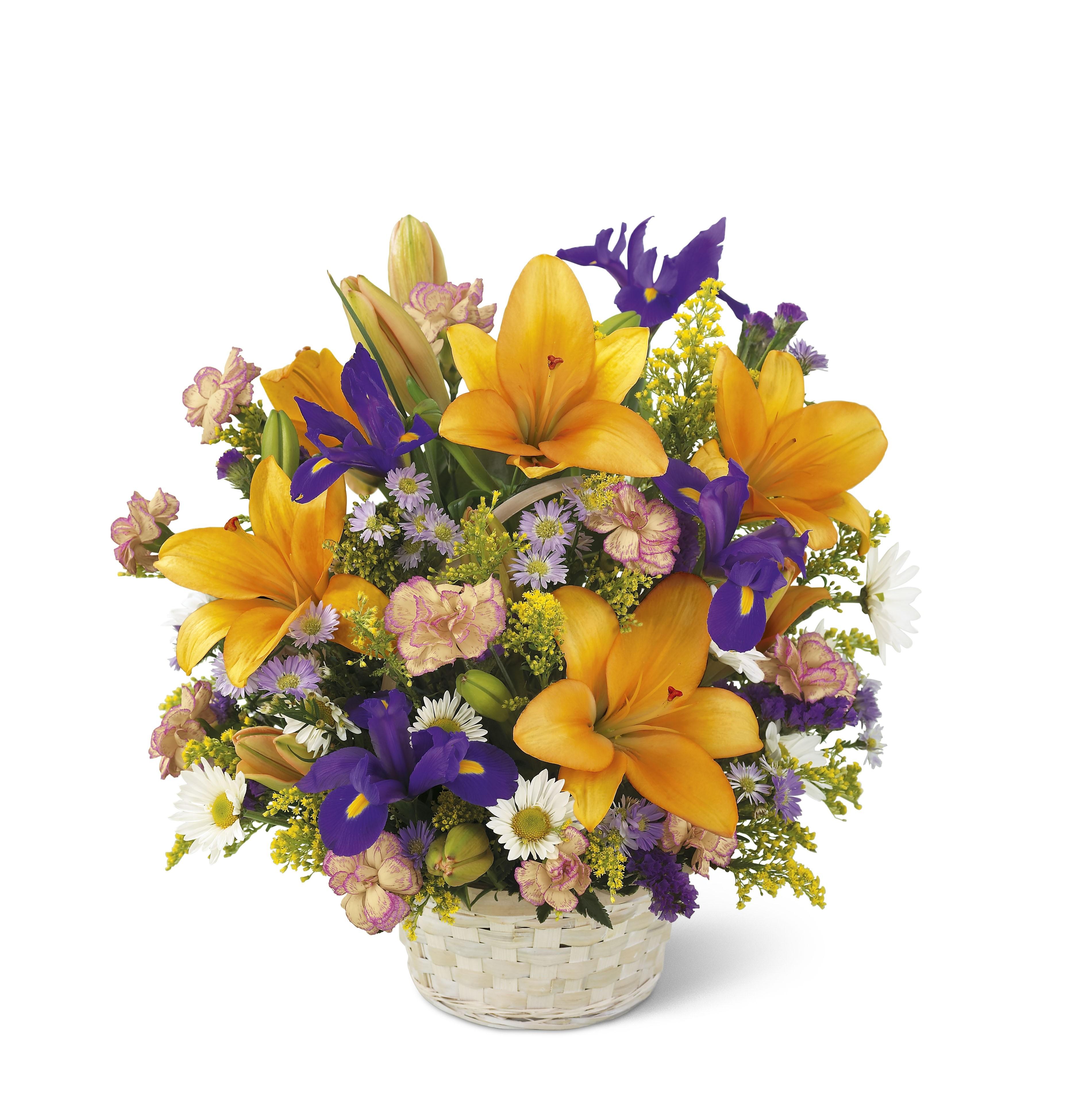 Букет, букет цветов на 45 лет