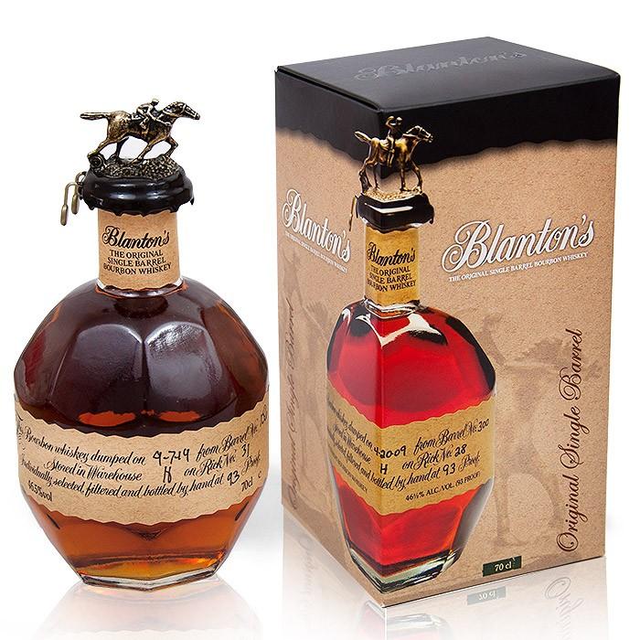 Whiskey Blanton's Single Barrel, śmietanowo- karmelowy trunek z nutą pomarańczy i przypraw