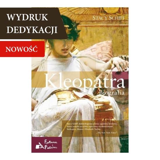 Kleopatra, książka o kobiecie, książka personalizowana