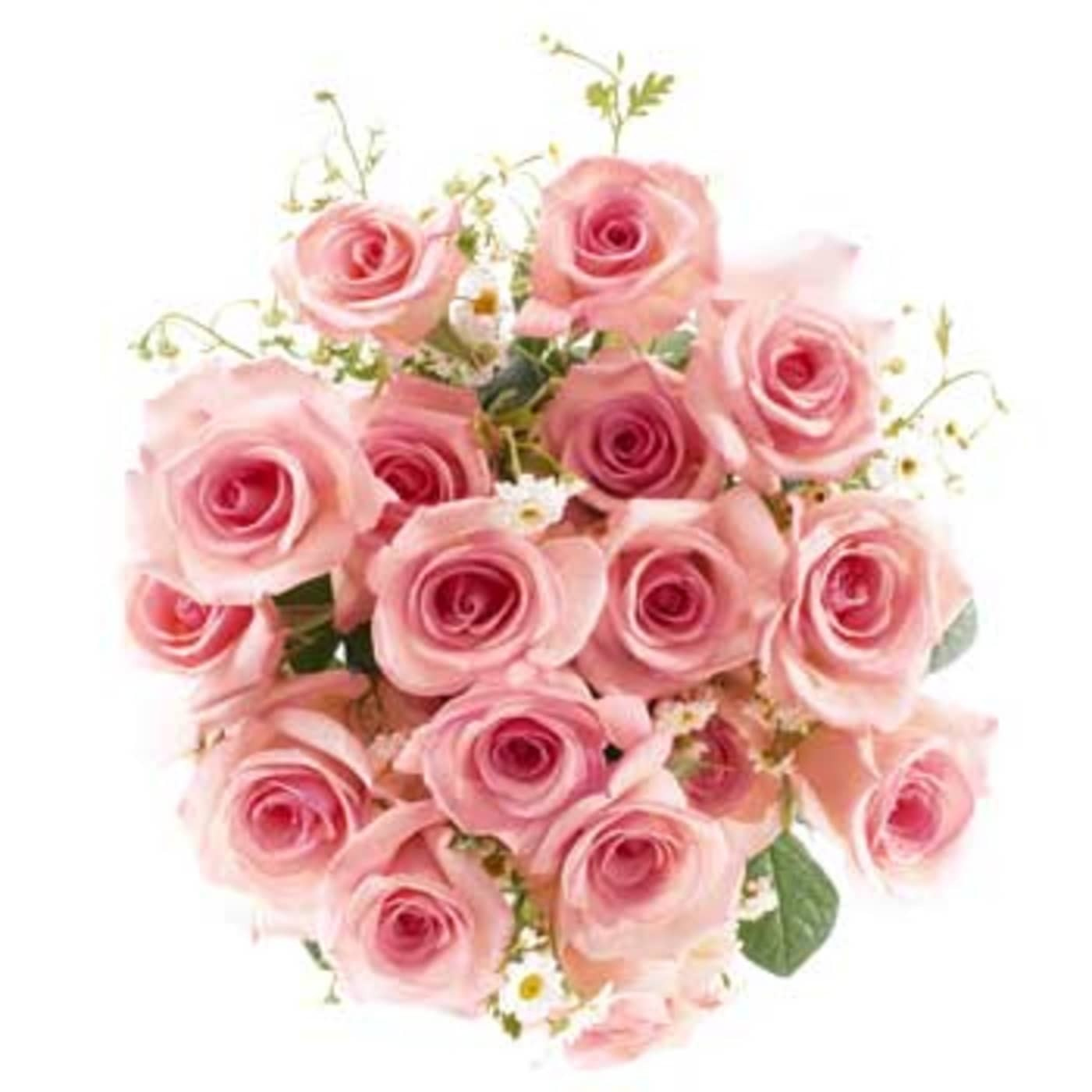 Delikatny bukiet róż