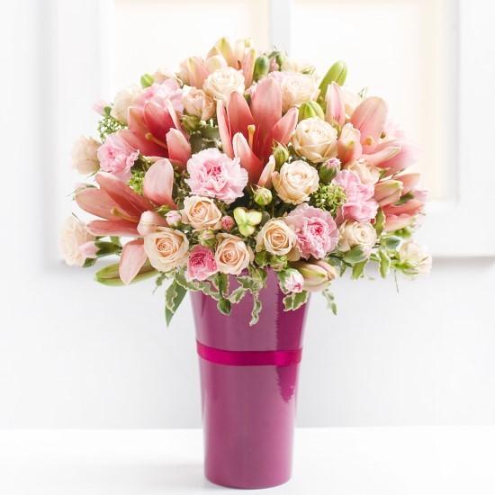 Różowy podziw