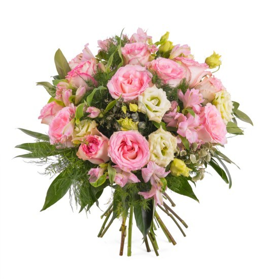 Różowy bukiet - średni