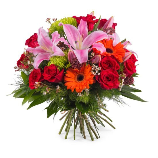 Bukiet kwiatów mieszanych - mały