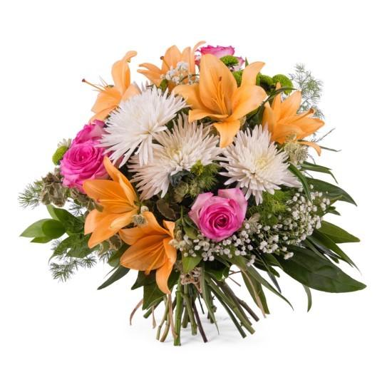 Bukiet wiosenny z liliami duży