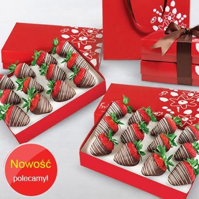 Truskawki w czekoladzie Francuskiej
