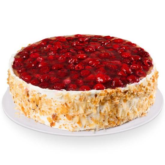 Tort owocowy, tort z owocami z dostawą, ciasto z owocami
