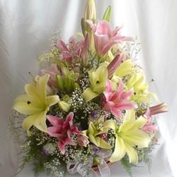 Aranżacja lilii