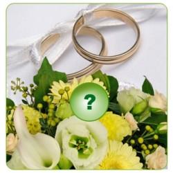 Sezonowy bukiet ślubny