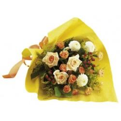 Bukiet kwiatów mieszanych