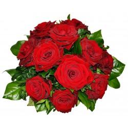 Zachwycający bukiet 12 róż