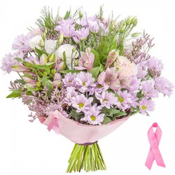 Pink Ribbon Bouquet
