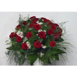 Bukiet 35 długich czerwonych róż