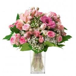 Kwiaty do Francji: Bohara - Bukiet pastelowy mieszany