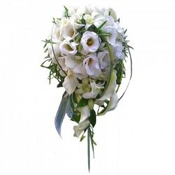 Elegancki biały bukiet