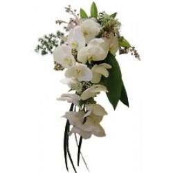 Bukiet kwiatów sezonowych - biały