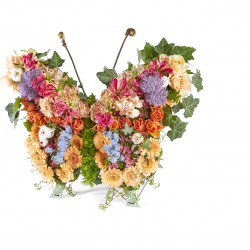 Funeral: Twilight Funeral Bouquet Butterfly
