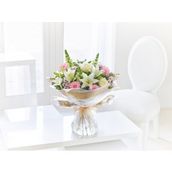 LARGE PURE ELEGANCE HAND-TIED