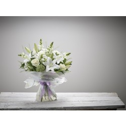 LARGE BEAUTIFUL BOND HAND-TIED