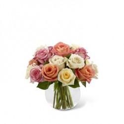 Kolorowe róże do Brazylii