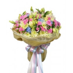 Bukiet świeżych kwiatów