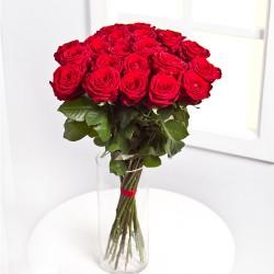 Bukiet 25 czerwonych róż