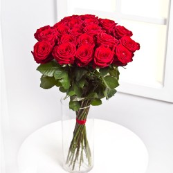 Bukiet 15 czerwonych róż