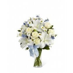 Bukiet szczere uczucie (zawiera wazon)