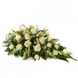 Wzniosła wiązanka pogrzebowa