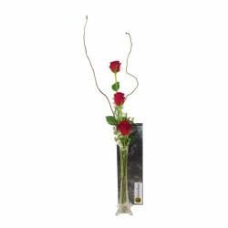 3 czerwone róże
