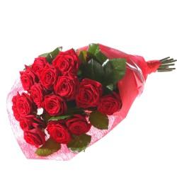 15 czerwonych róż
