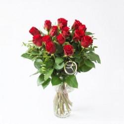 Bukiet czerwonych róż - M