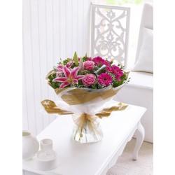 Bukiet różowej dobroci