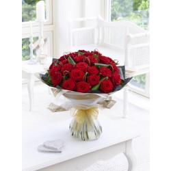Bukiet 24 długich róż