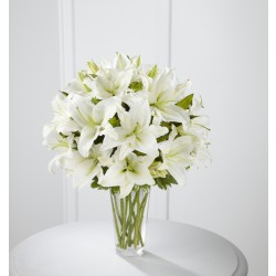 The Spirited Grace™ Lily Bouquet - VASE INCLUDED