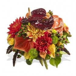 Bukiet sezonowe kwiaty cięte