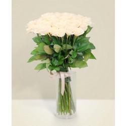 Klasyczny bukiet róż