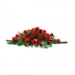 Wiązanka czerwonych róż