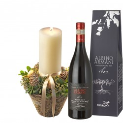 Tender winter light with Amarone della Valpolicella Classico DOCG (75cl)